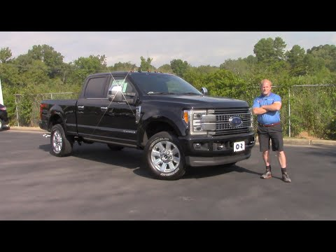 Is The 2019 Ford F-250 Super Duty Platinum Edition The Most Luxurious Work Truck?