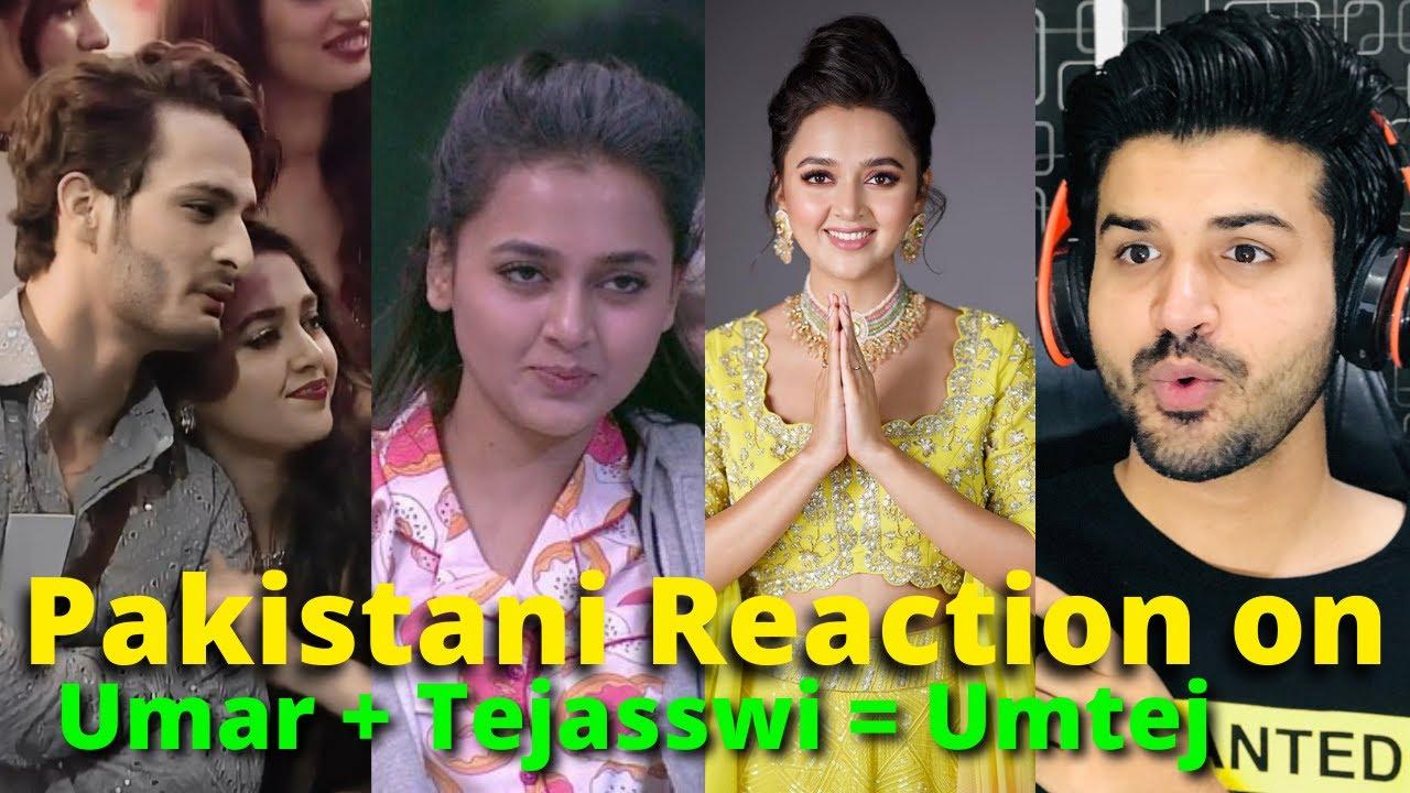 Pakistani React on Bigg Boss 15  Umar + Tejasswi = Umtej | Reaction Vlogger