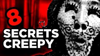 8 SECRETS & EASTER EGGS CREEPY DE JEUX VIDEOS