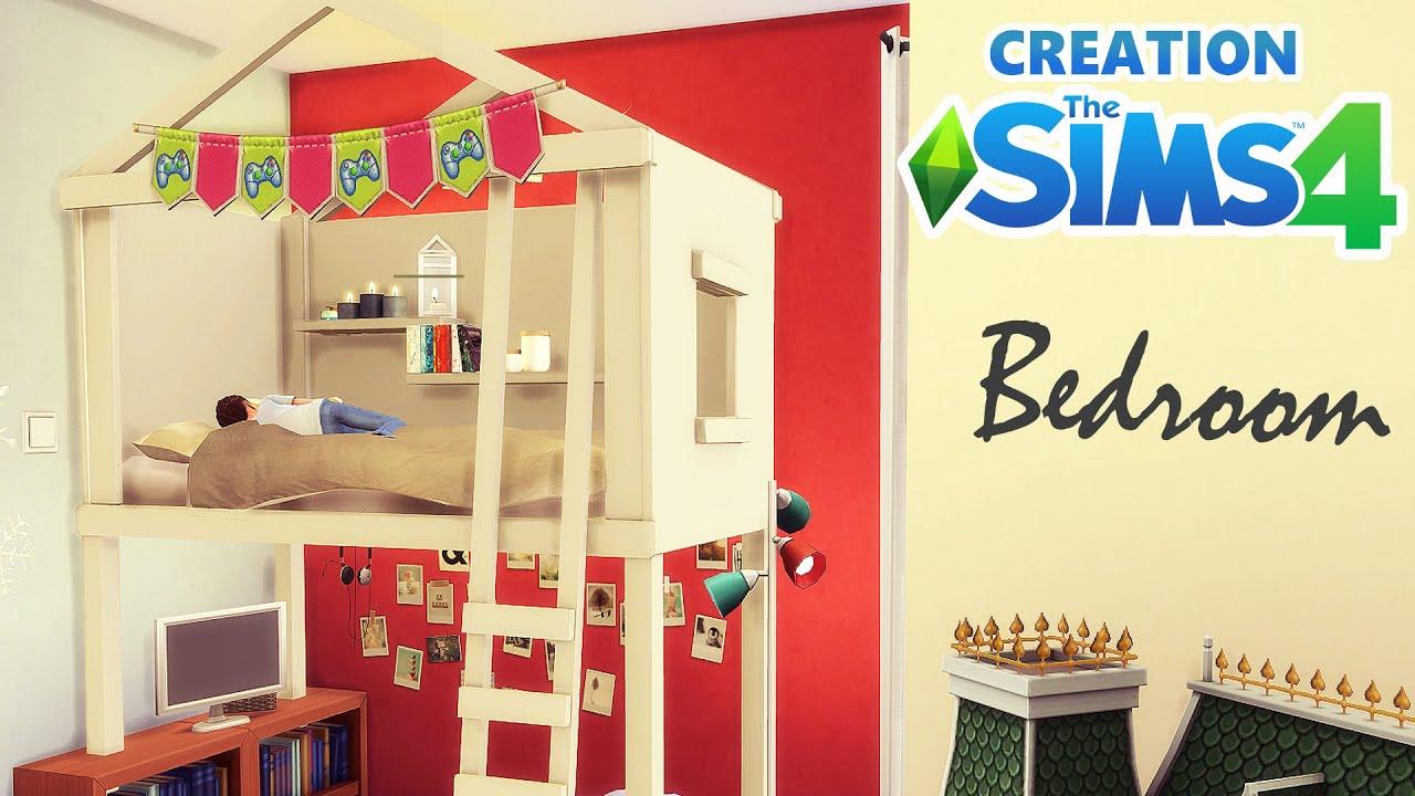 Chambre D Enfant Creation Sims 4 Youtube