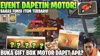 GARENA LAGI BAIK! BUKA GIFT BOX MOTOR DAN BAHAS ITEM BARU! - Garena Free Fire