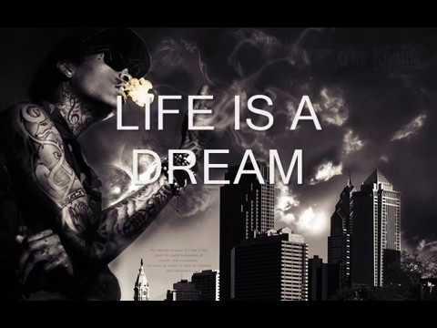 Wiz KhalifaLife Is A Dream ft Ricky PLYRICS ON SCREEN