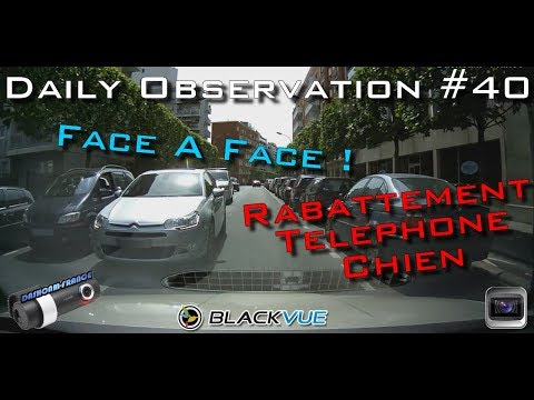 🇫🇷 🚦DAILY OBSERVATION #40 🚦- FACE A FACE ET TELEPHONE ! 🇫🇷 ⏩️ Dashcam-France™ ⏪