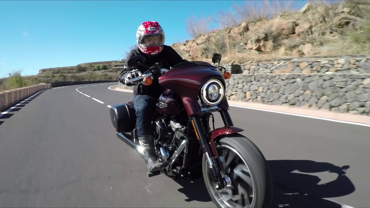 2018 Harley-Davidson Sport Glide Test Drive Review - YouTube