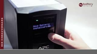 Akku passend für APC Smart UPS 750 ersetzt APC RBC48 Akku(RBC48 Einbauvideo. So einfach funktioniert der Einbau eines RBC48 in eine APC Smart UPS 750 APC USV Anlage folgender Modellnummern: SUA750I, ..., 2014-11-28T09:33:17.000Z)