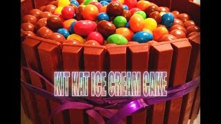 How To: Kit Kat Ice Cream Cake (fast And Easy)