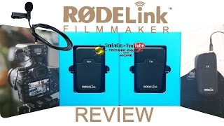RodeLink Filmmaker Kit Funkstrecke Review Rode Filmmaker Kit Deutsch