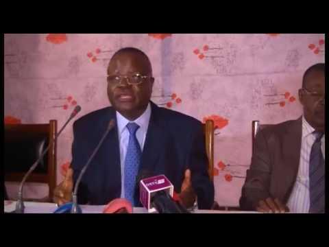 Conférence de Presse du Collectif de l'opposition Congolaise du samedi 5 août 2017
