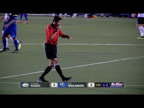 College Soccer - UC Riverside Vs UC Davis