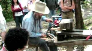 Eustace Conway Wood Carving Part I