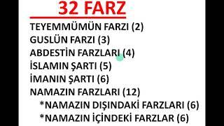32 FARZ....GİRİŞ