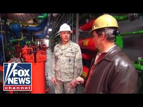 Col. Robert Moose welcomes Fox News to Cheyenne Mountain