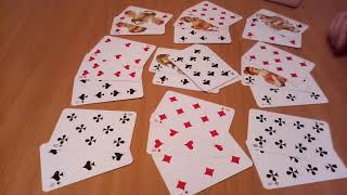 ♣ КРЕСТОВАЯ ДАМА,  цыганский, гадание онлайн на  игральных  картах,  ближайшее будущее