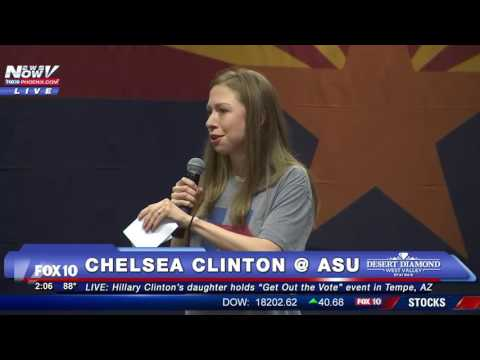 FNN: Chelsea Clinton Speaks at Arizona State University - FULL SPEECH