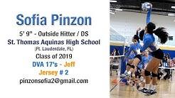 Sofia Pinzon - 2017 Club Volleyball Highlights