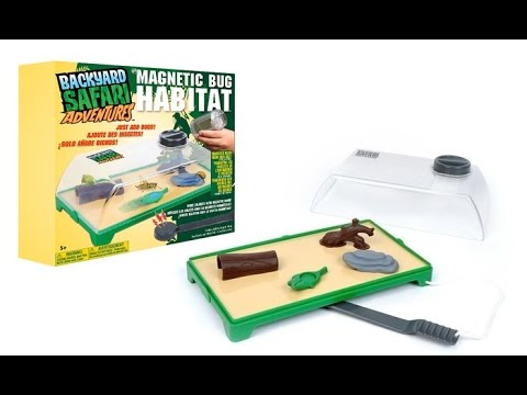 Backyard Safari Bug Habitat backyard safari magnetic bug habitat - youtube