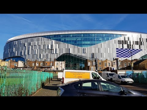 Tottenhams New Stadium - White Hart Lane - 21st February 2019