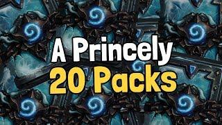 A Princely 20 Packs - Hearthstone