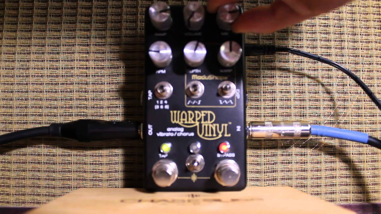 Chase Bliss Audio Warped Vinyl Warped Tremolo And Beyond