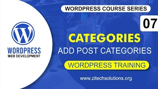 How To Add Post Categories In WordPress In Urdu and Hindi WP 5