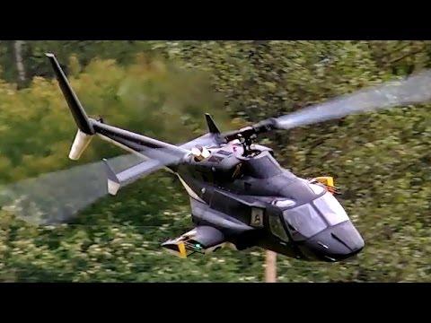 Bell 222 Airwolf Gigantic Scale Rc Turbine Model