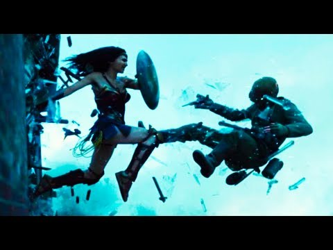 Wonder Woman (2017) Diana Kills The God of War Ares - Ares ...