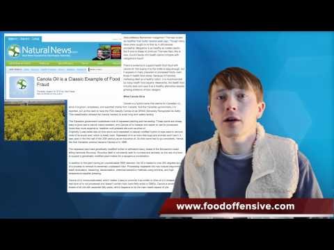 Canola: A Perfect Example of Food Fraud; Genetically Modified Canola Part 2