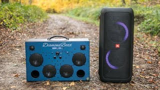 DIAMONDBOXX L2 vs JBL PartyBox outdoor sound test