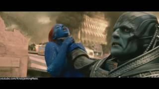 X - Men Apocalypse Chokes Mystique Scene Blu-Ray HD