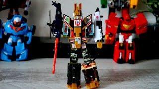Тоботы и военный робот - трансформер. Игрушки видео