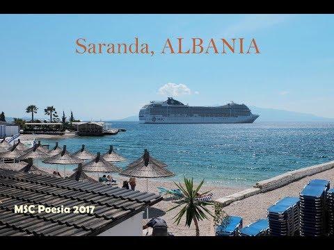 MSC Poesia - Saranda, Albania