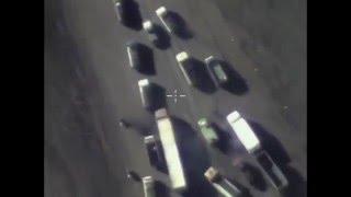 #Сирия 25 12 15 Уничтожение замаскированных бензовозов ИГИЛ