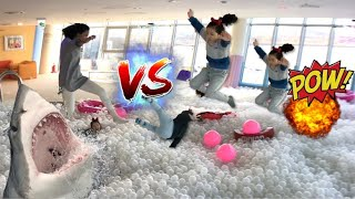 초대형 볼풀 키즈카페 방문기~ 볼풀수영장 새빛섬 키즈카페 숨바꼭질 giant Ball Swimming Pool hide & seek l indoor playground
