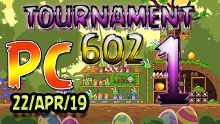 Angry Birds Friends Level 1 PC Tournament 602 Highscore POWER-UP walkthrough #AngryBirds