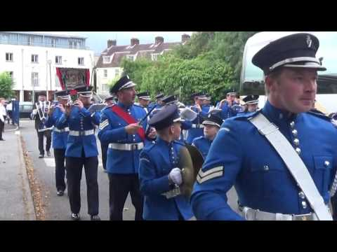 Brookeborough Flute Band @ County Fermanaghs Black Saturday 2015 (2)