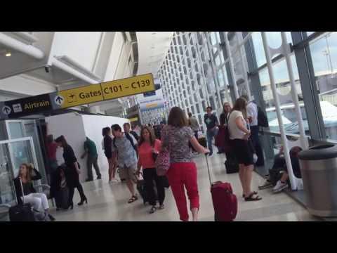 Inside Terminal C at Newark Liberty International airport