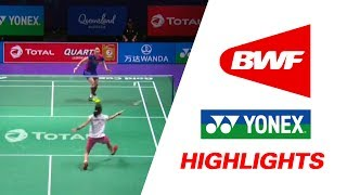 total bwf sudirman cup 2017   badminton day 4 grp 1b kor vs tpe highlights