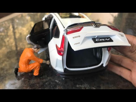 Diecast Unboxing-2018 Honda CRV Diecast 1/18 Paudi Models Honda Collection