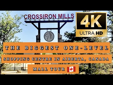 CrossIron Mills || Outlet Shopping Mall North Of Calgary, Alberta, Canada.