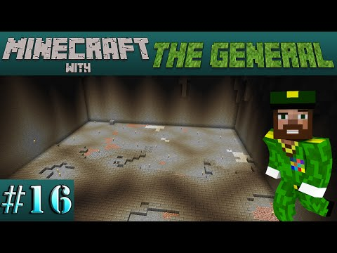 Minecraft with The General - #16 - Giant Storage Room ! [1080p HD PC Gameplay]