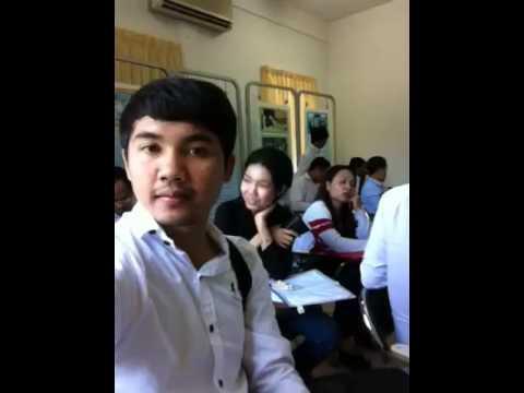 ប្រុសស្អាតខ្មែរកំពុងរៀន Handsome boy cambodia Learning
