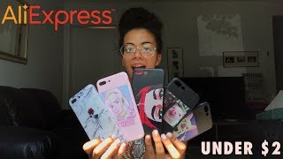 The Best AliExpress iPhone Case Haul! (UNDER $2) WAS IT WORTH IT?   July 2018