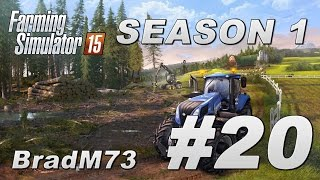 Farming Simulator 15 - Season 1 - Episode 20 - Chipper Trouble!
