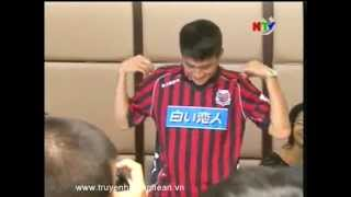 Lê Công Vinh ký hợp đồng thi đấu cho CLB ở Nhật Bản