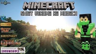 Minecraft - Świat Venoma na modach #13 (Logistic pipes i estetyka)
