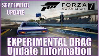 Experimental Drag Coming to Forza Motorsport 7 in September!