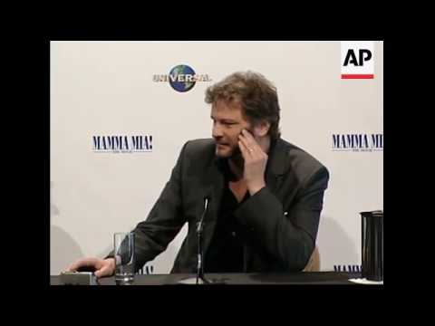 Meryl Streep, Colin Firth, Dominic Cooper Having Fun at Press ConferenceAustralia