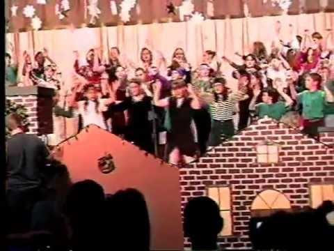 McRae Elementary School Keystone Heights - Winter Chorus Concert 1998