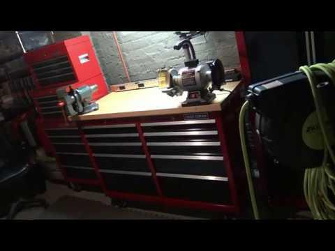 My Custom Craftsman Rolling Work Bench For Under $500