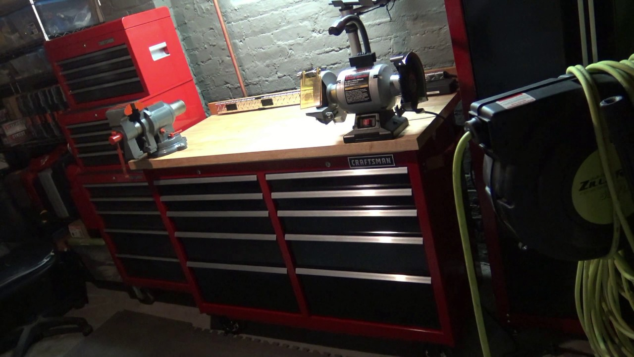 My Custom Craftsman Rolling Work Bench For Under 500